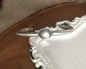 Concho Stackable Cuff Bracelet