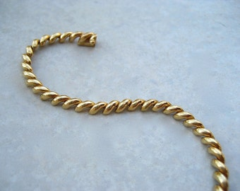 Vintage 14K Gold Tennis Bracelet San Marco Link Chain