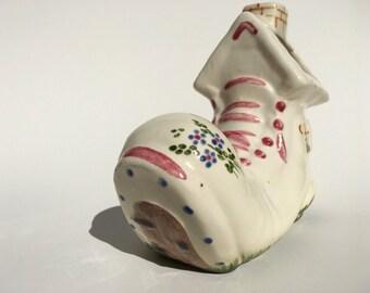 Vintage Cermanic Shoe/House Planter