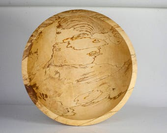 Large Bowl in Irish Beech