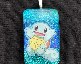 Squirtle charm necklace pokemon