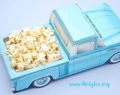 6 Truck Food Boxes | Truck Party Food Tray | Vintage Chevy Food Box | Truck Party Favor | Car Food Box | Kids Food Box