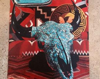 1974 Arizona Highways Magazine, Turquoise in Native Indian Jewelry Illustrated, January 1974