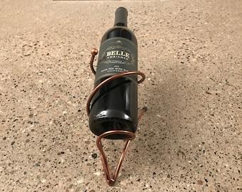Bronze Wine Bottle Holder
