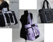 Customizable Laptop bag for Color Fabric and Size - Fully Padded -WATERPROOF interior Fabric-Tote-Handbag-Shoulder Bag-Everyday bag