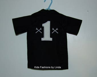 Personalized Birthday Mechanic Shirt