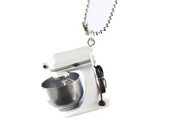 Kitchen appliance Necklace Miniblings 80cm cooking baking cooking kitchen blender