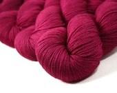 """Vesper Fingering """"Reindeer Games"""" 70/20/10 SW BFL Silk Cashmere Hand Dyed Sock Yarn 440yds"""