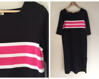 Striped sweater dress size medium