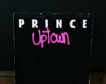 Prince 45 Uptown / Crazy You From Album Dirty Mind & For You,  Prince Record, Prince Vinyl
