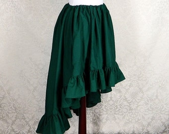 10% OFF Custom Made -- Regular Length Cecilia Skirt in Cotton -- Made in Your Size and Color Choice