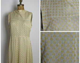 1960s Floor Length Dress