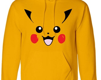 Pikachu Inspired Adults Hoody