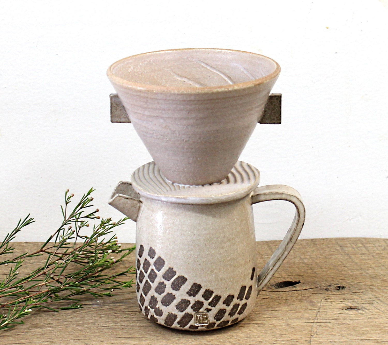 Pottery Coffee Maker Handmade Coffee Dripper Pour-over