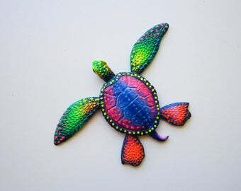 Fun beach decor, Turtle art, nautical wall art,key west art, florida decor