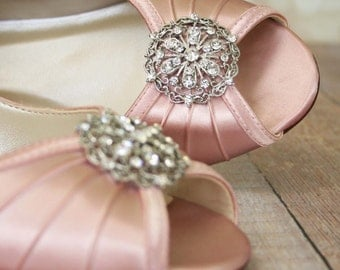 Wedding Shoes, Design Your Own Wedding Shoes, Simple Wedding Shoes, Vintage Wedding Shoes, Wedding Shoes, Bridal Heels, Bridesmaids Shoes