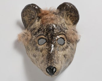 mouse paper mask