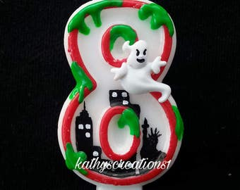 Ghostbusters birthday, ghostbusters candle