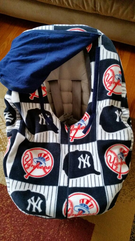 new york infant baseball baby car seat cover yankees blue. Black Bedroom Furniture Sets. Home Design Ideas
