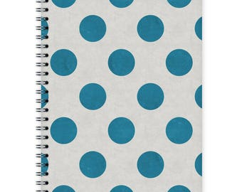 Notebook A5 - Blue Dots
