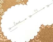 Washi Tape: Love Arrow
