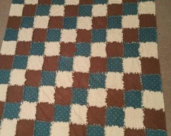 Flannel Rag Quilt