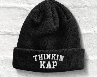 Thinking Cap Beanie Hat, Thinkin Kap beanie Hat, Thinkin Kap hat Beanie Winter Hat