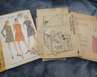 McCall's Vintage Sewing Pattern 2189 Vintage Size 16 Bust 38