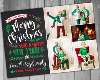 Christmas Photo Card Holiday Card Christmas Card Holiday Photo Card Family Christmas Cards Family Photo Christmas Card Printable Christmas