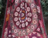 Vintage Suzani  multicoloured