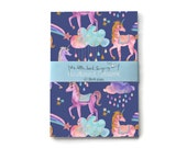 Unicorn Bullet Journal - Traveler - Notebook - Exercise Book  - 60 Pages