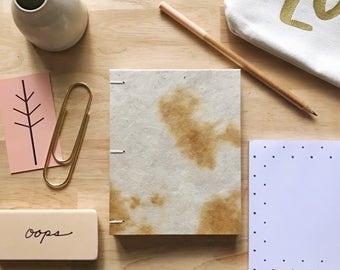 Faux Cow Hide Notebook