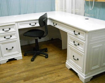 Shabby Chic executive office desk SOLD special listing for caraspenser team wanting executive office desk