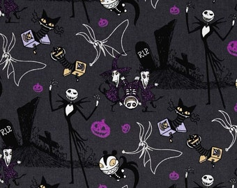 Springs - Nightmare Before Christmas - Jack in the Boxes Gray