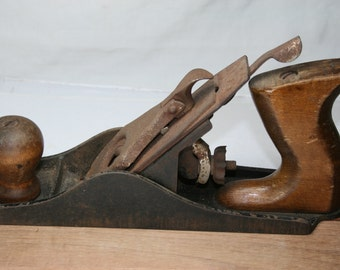 Vintage Wood Plane - Shop Tool - Wood Working Tool