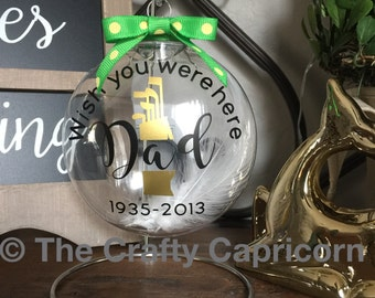 Memorial Ornament for Dad