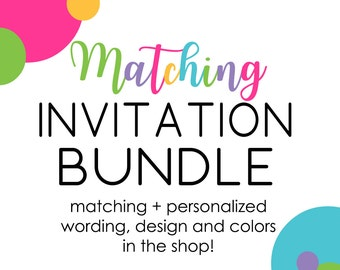 Party Bundle Custom Coordinate Add-On Package Baby Shower Essentials Printable File Insert Card Diaper Raffle Favor Tags Party Games (MATAD)