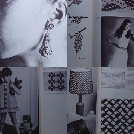 Vintage pattern book - Australian book of Crochet