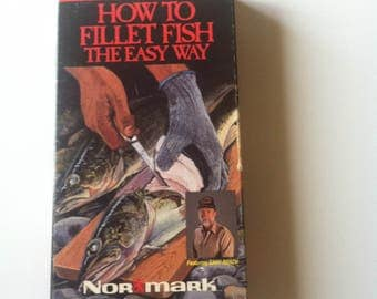 How To Fillet Fish The Easy Way (1987, VHS)