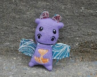 Tiny Tekhni Wrap Scrap Dragon