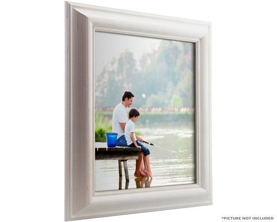 Craig frames 10x13 inch white picture frame american for American classic frames