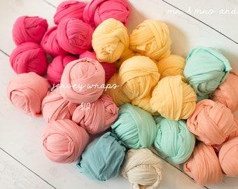 Jersey Stretch Wraps, Newborn Photo Prop, Newborn Wrap, Photography Prop Fabric