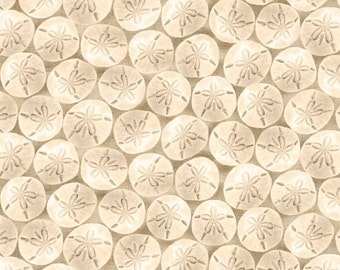 Fun In The Sun - Sand Dollars - Blank Quilting (8307-41) - 1 Yard