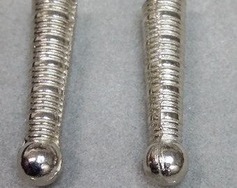 Bolo Tie Tips silver color BT1A