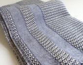 Turkish Towel Peshtemal towel Cotton Peshtemal Aegean style Towel in denim blue