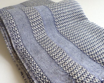 Turkish Towel Peshtemal towel Cotton Peshtemal Aegean style Towel in denim blue