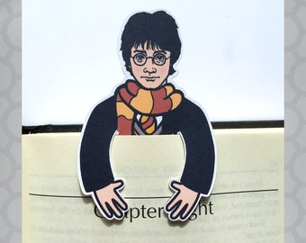 Illustrated Harry Potter Bookmark