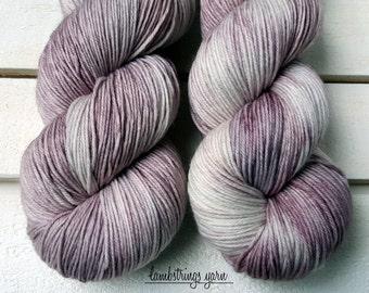 MCN 80/10/10 Sock, 4 ply, Hand Dyed Yarn, SW Merino wool Cashmere Nylon, 435 yds/100g: Still.