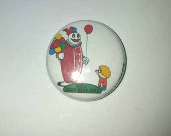"1"" button or magnet. POGO"