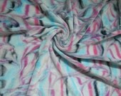 Bamboo velour fabric,  Dyed Bamboo Velour, baby blanket fabric, Fat half 28 x 31, mama cloth fabric, cloth diaper fabric